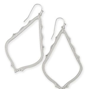 Kendra scott SOPHEE large earrings in Silver